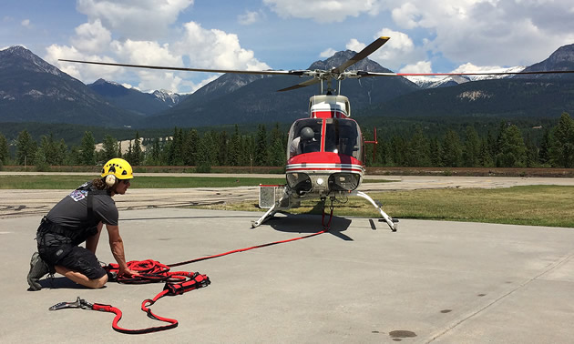 Three search and rescue teams in the Columbia Basin have new helicopter rescue equipment thanks to support from Columbia Basin Trust.