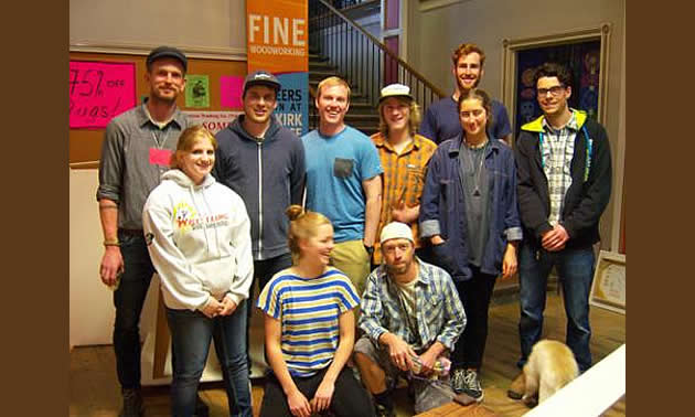 Selkirk College Fine Woodworking Students Kootenay Business