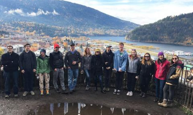Students in Selkirk College's Integrated Environmental Planning Program have been working with the City of Nelson on Life and Environment Action plans.