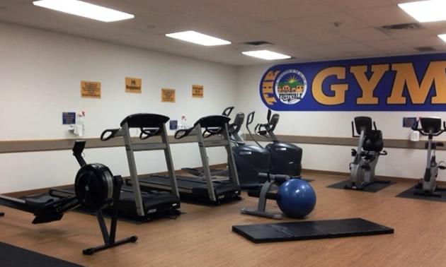Fruitvale Seniors Gym.