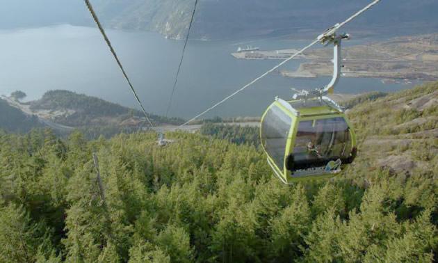 Scenic view of gondola.