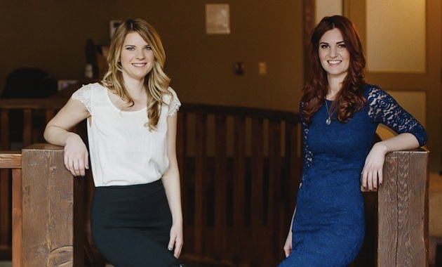 Jessica Riley (R) and Laura Oleksow (L), the new owners of Spa 901, in Fernie, B.C.