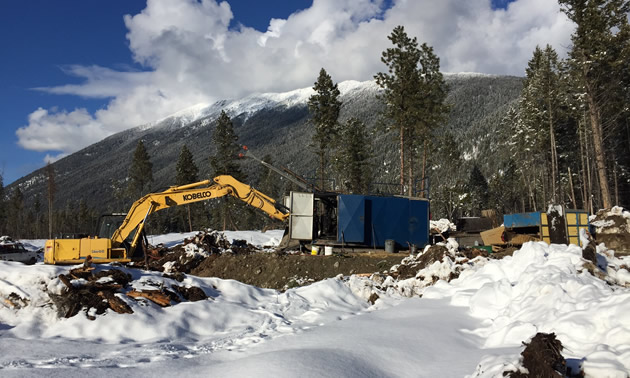After months of planning this next drill hole, the team is now present in the Kootenays and ready to drill.