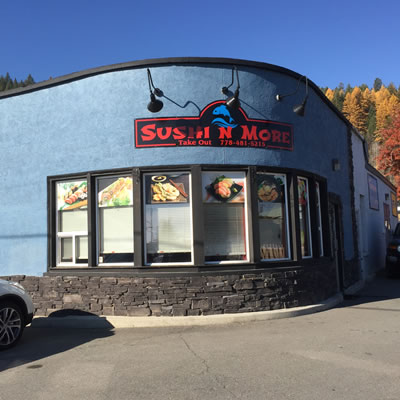 New Sushi & More restaurant.