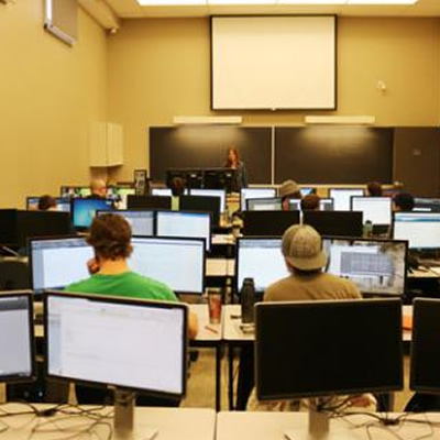 The new Applied Research and Innovation Centre in Castlegar provides Selkirk College students a learning environment equipped with the latest technology.