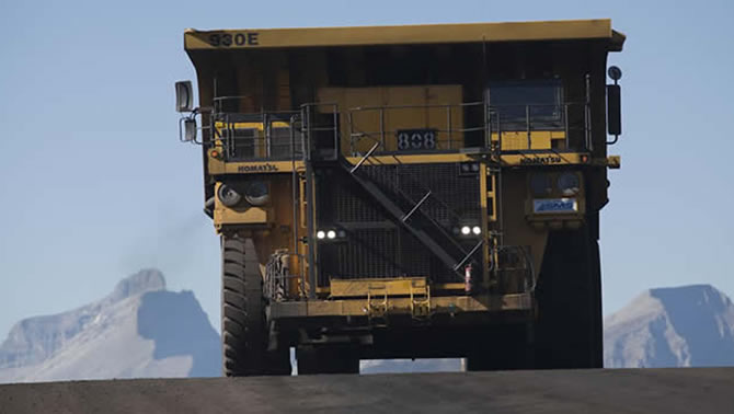 Pic of large industrial truck.
