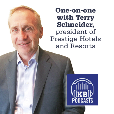 Terry Schneider, president of Prestige Hotels and Resorts.