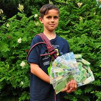 Photo of third grader, Nathan Croston