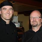 Photo of Thomas Nay and Bob Johnson