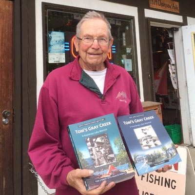 Tom Lymbery's new book is now available at local book stores throughout the Kootenays.