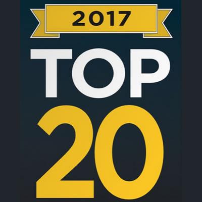 Top 20 list logo.