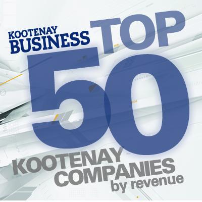 2016 Top 50 Kootenay Companies