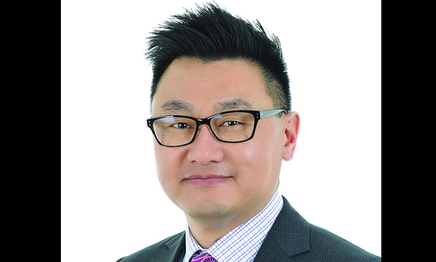 Wayne Lee-Ying, new Manager, International Education at the College of the Rockies in Cranbrook.