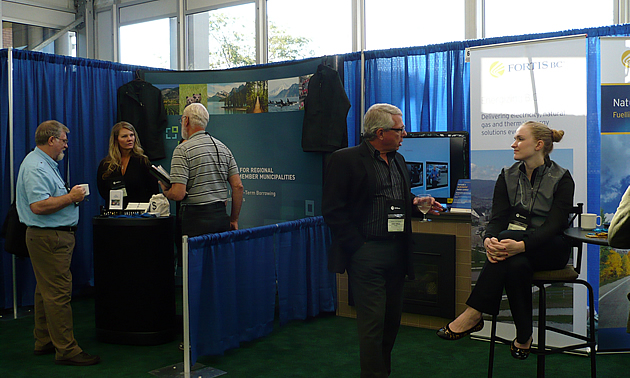 The fall UBCM convention in Victoria, British Columbia.